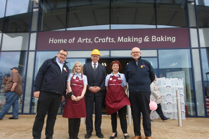Delight As New Hobbycraft Store Opens In Lincoln Lindum Group