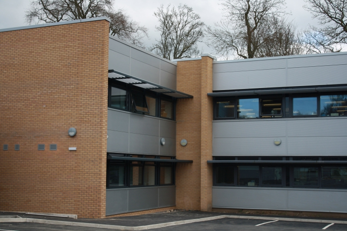 Extension to University chemistry labs completed