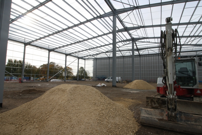 Industrial units at Network 46 on track for completion in March 2019