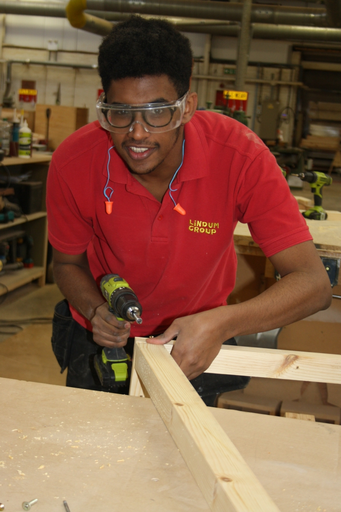 Apprentices learning their trade on major city centre regeneration project