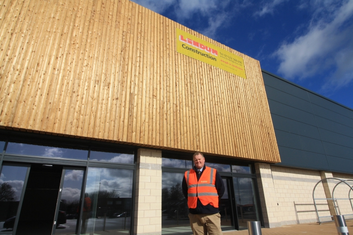 Deacon Road Retail Park complete and handed over