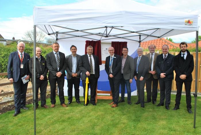 Doors open to new development of homes in Ingham