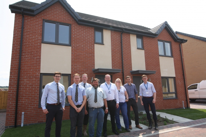 Work on new affordable homes near Lincoln is complete
