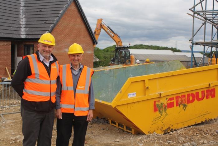 Builders befriend pensioner on site at Malton