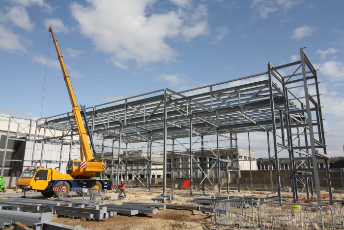 Doncaster's new cinema is starting to take shape
