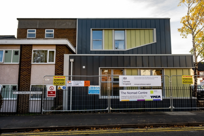 Lindum delighted to see new YMCA shelter opening in Lincoln