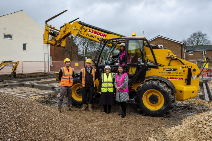 Work begins on new flats for homeless young people in Lincoln