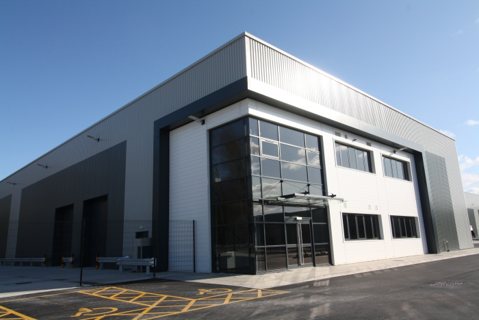 York team hands over new industrial warehouse units