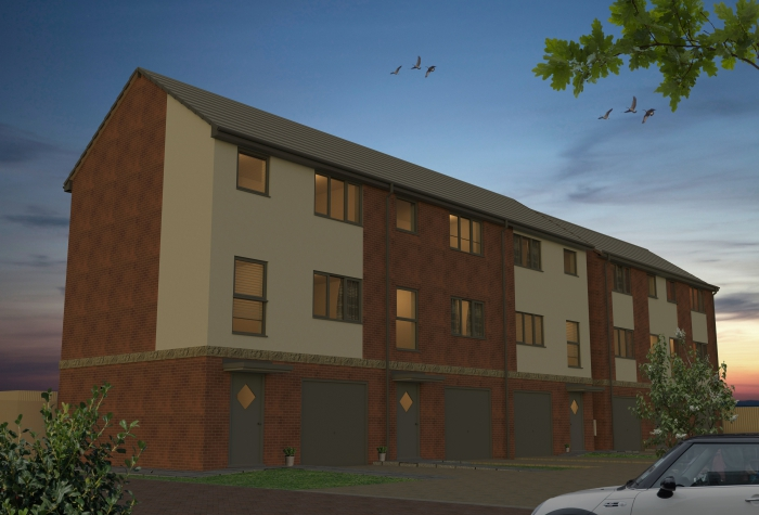 New development of 36 affordable homes on site of Spalding's former hospital