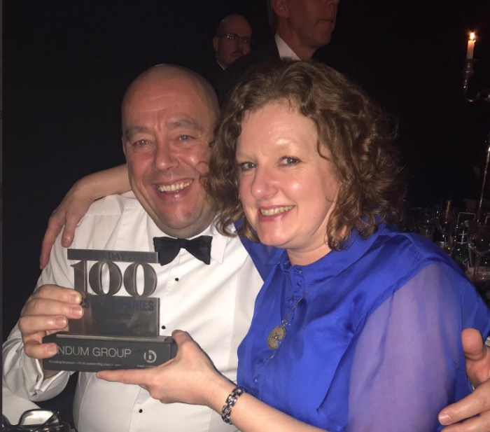 Lindum included in Sunday Times Best 100 Companies to Work For again