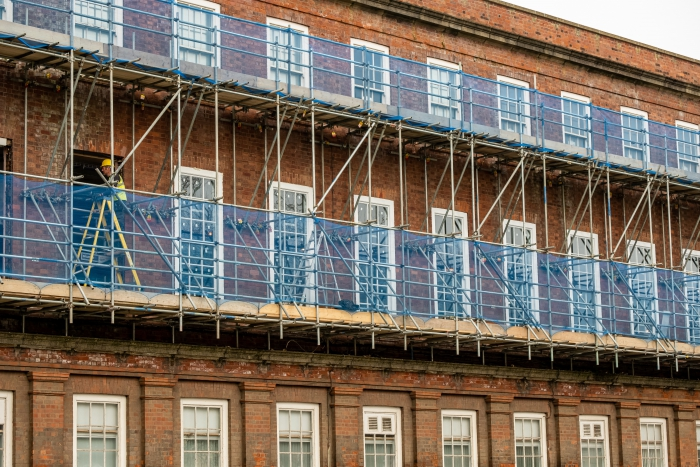 New windows offer view of joiners' heritage skills