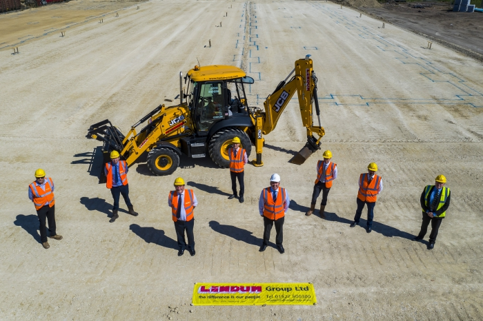 Ground broken ready for £2.2.m investment at Discovery Park