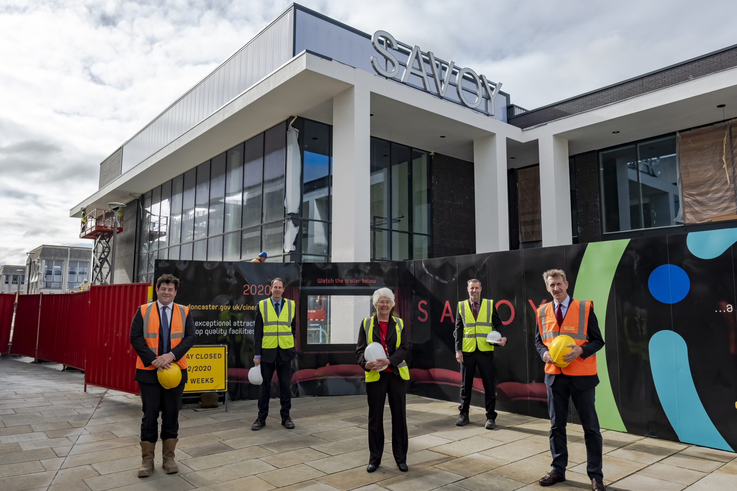 Lights. Camera. Action for Doncaster's new blockbuster cinema complex