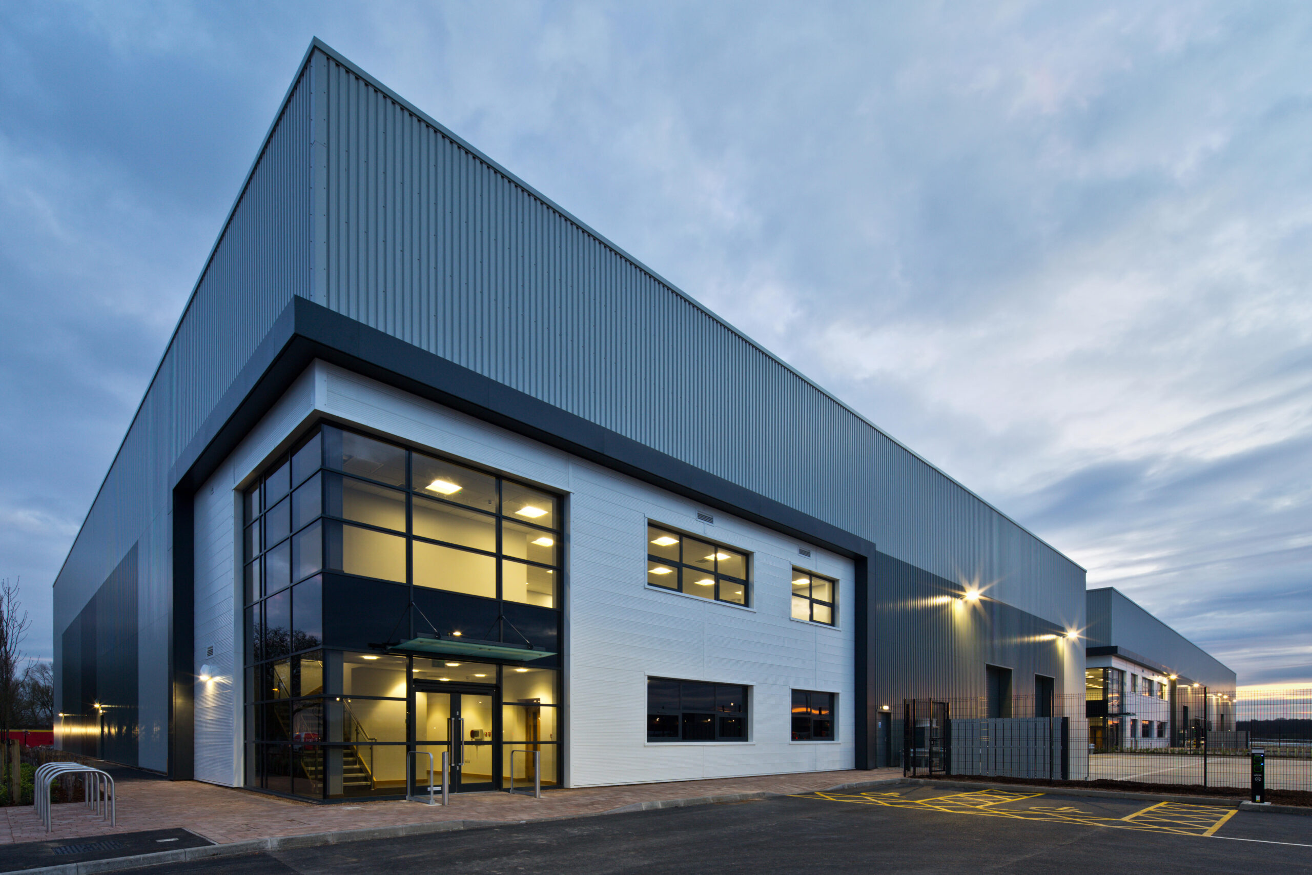 Lindum-built industrial park picks up regional award