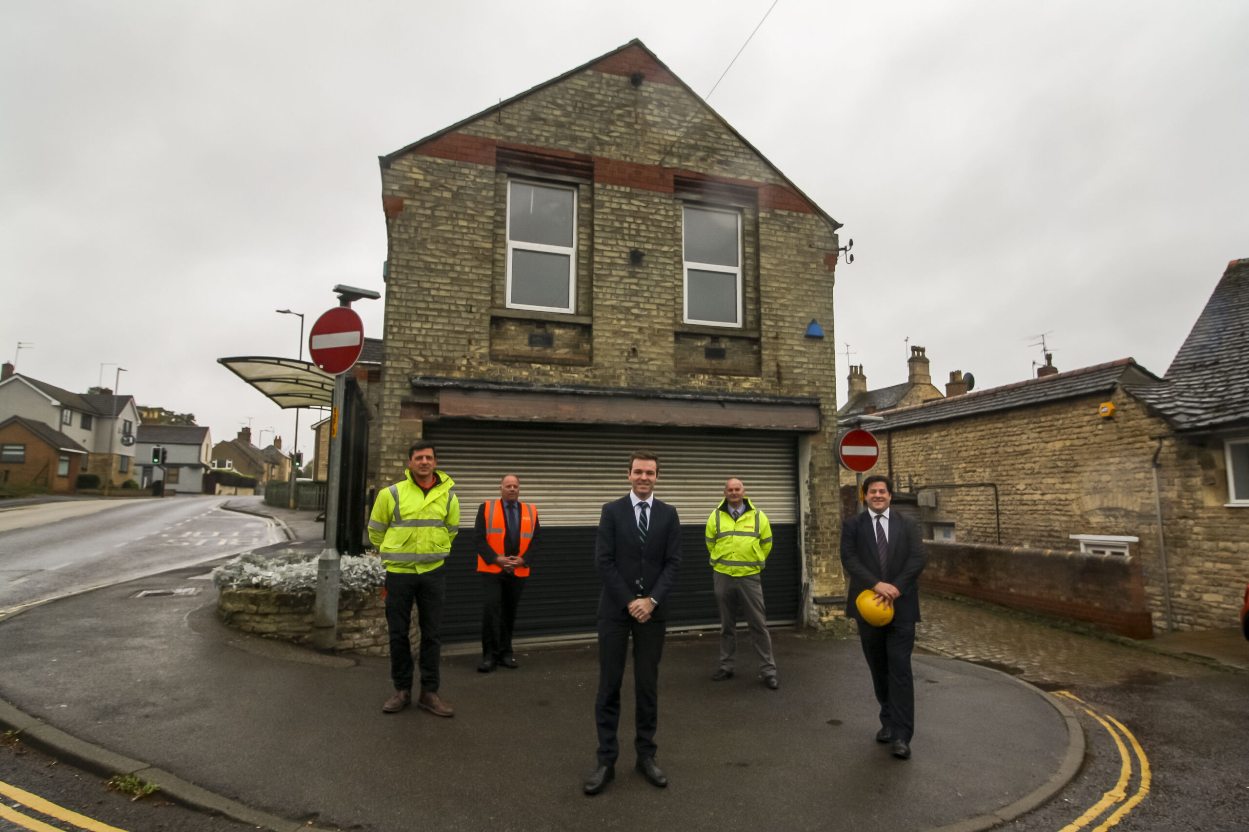 Work starts on refurbishment of Stamford's old ambulance station