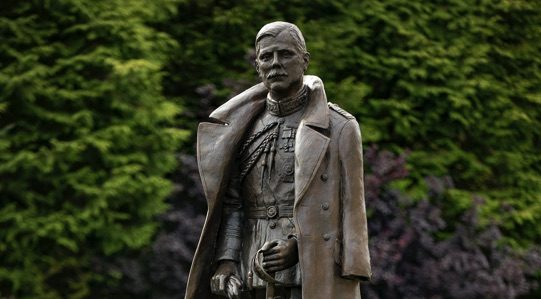 Lord Trenchard statue stands proud at RAF College Cranwell