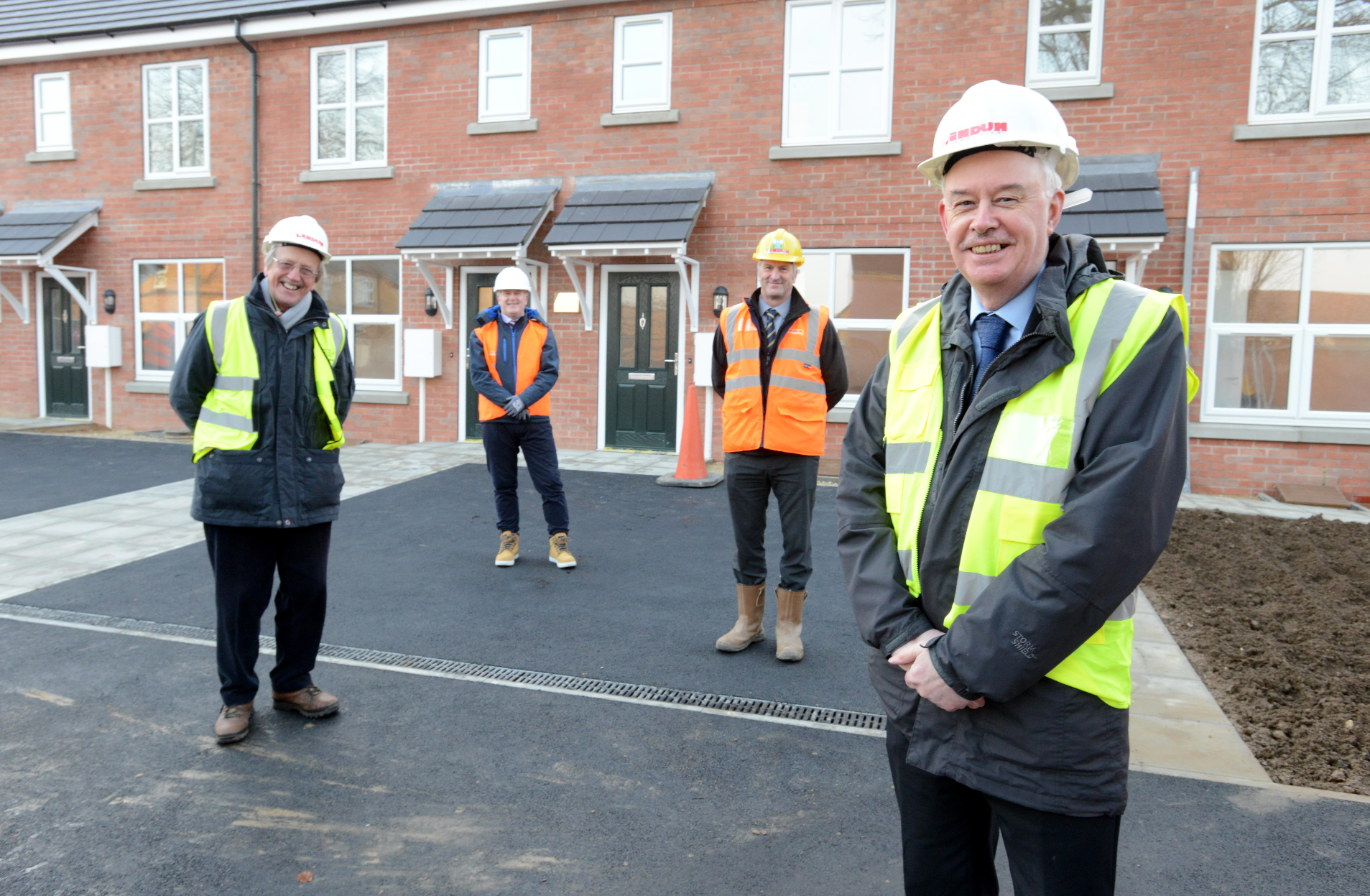 New homes built on site of derelict community building