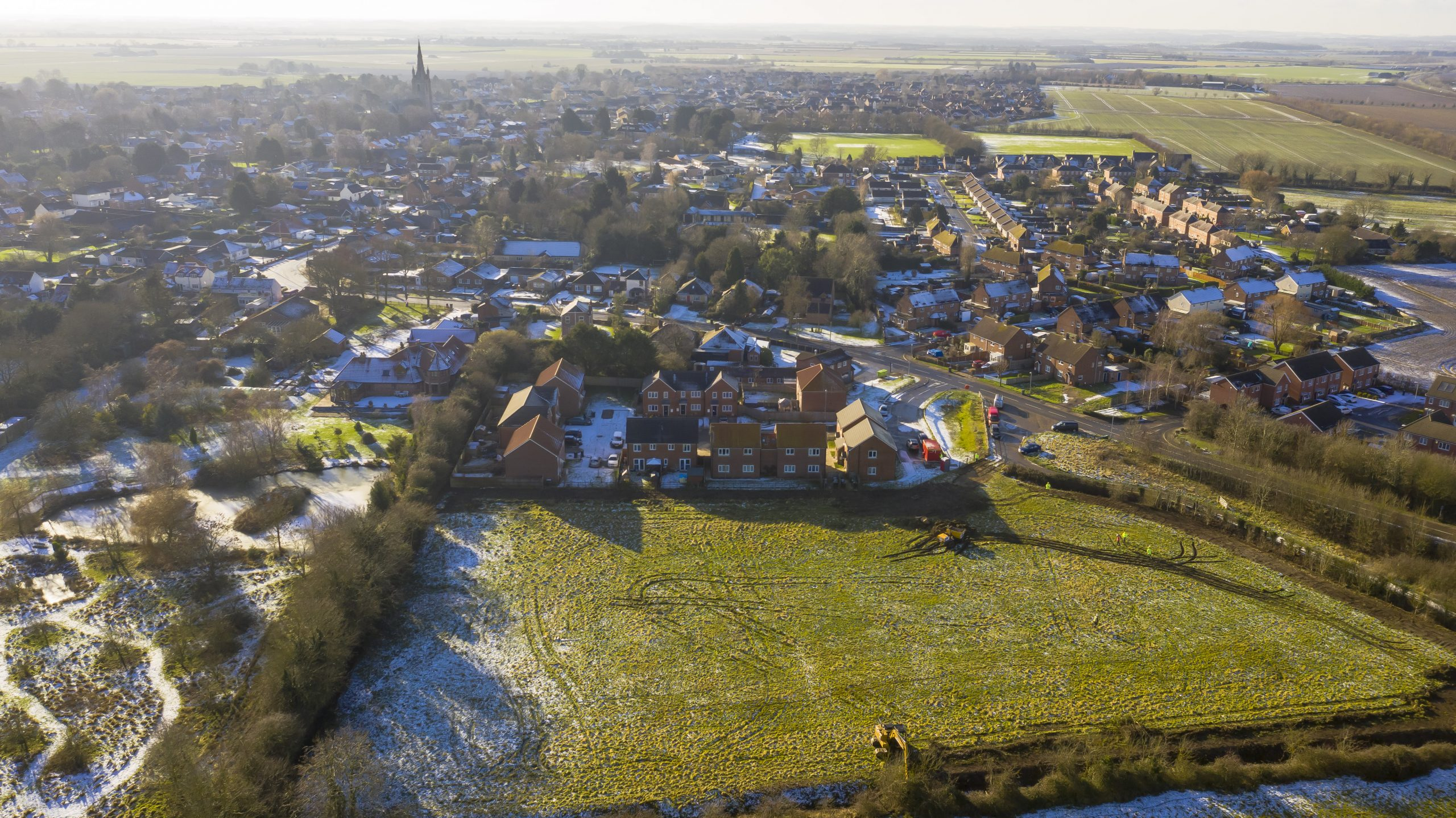 Work starts on new homes in Heckington