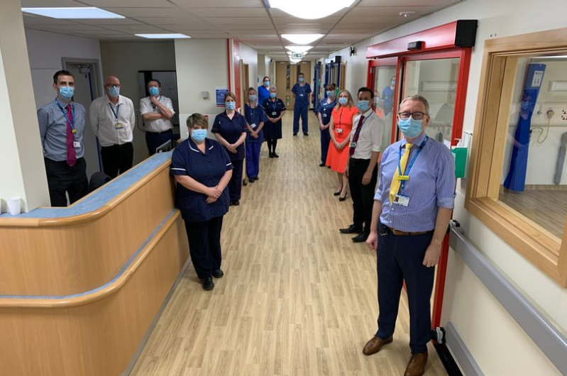 £1million transformation gives hospital patients 5-star ward