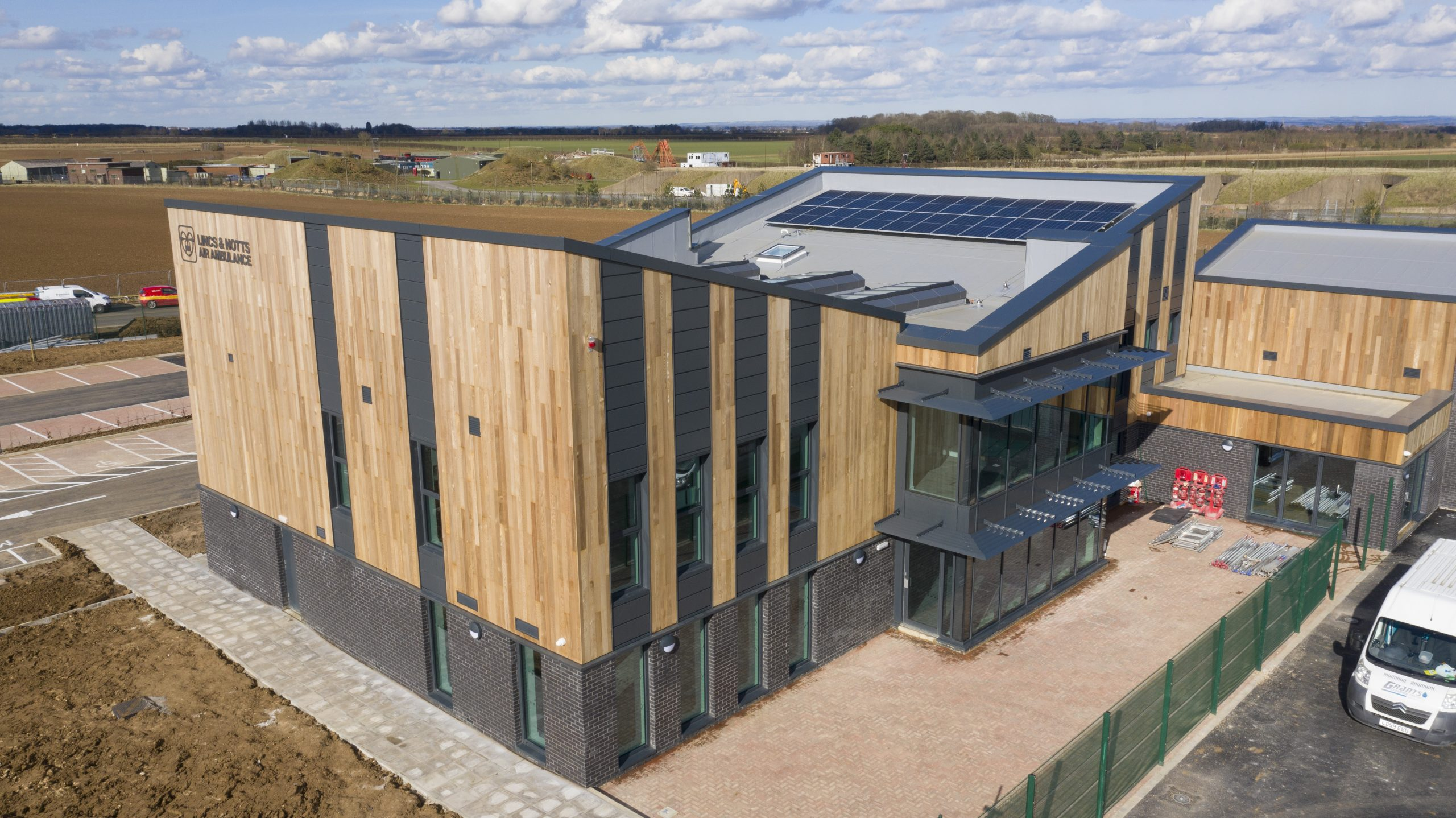 New air ambulance HQ is complete
