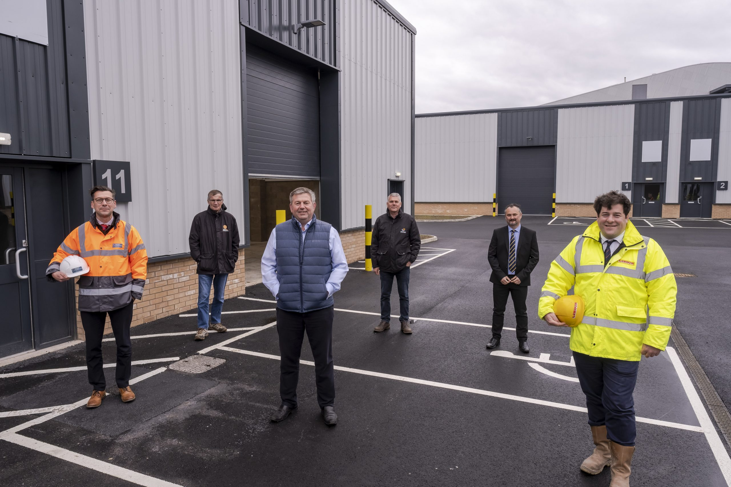 Work to build £2.2 million new business units complete