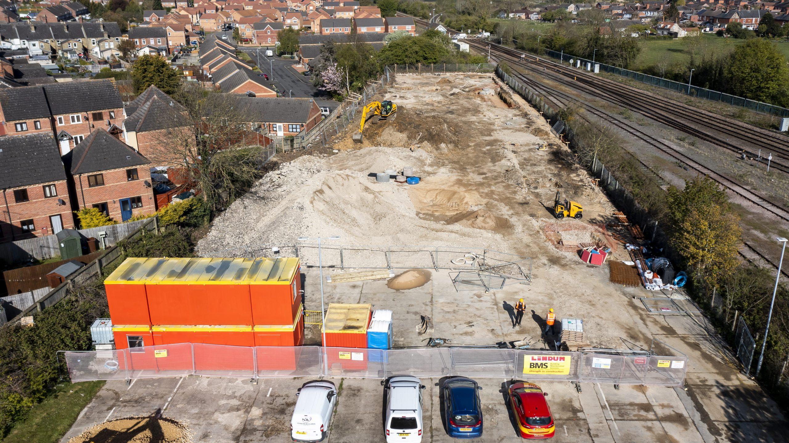 Work begins on 12 new homes in Sleaford