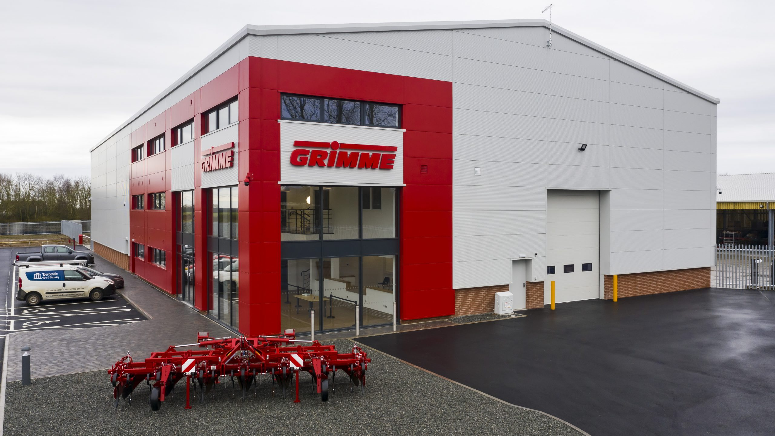 New £3.5m premises handed over to German company
