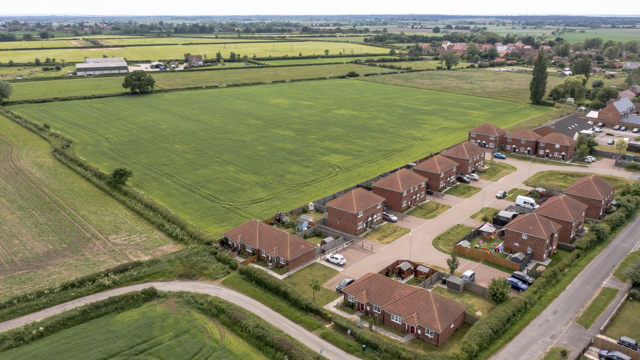 Plans for new affordable homes in village near Lincoln
